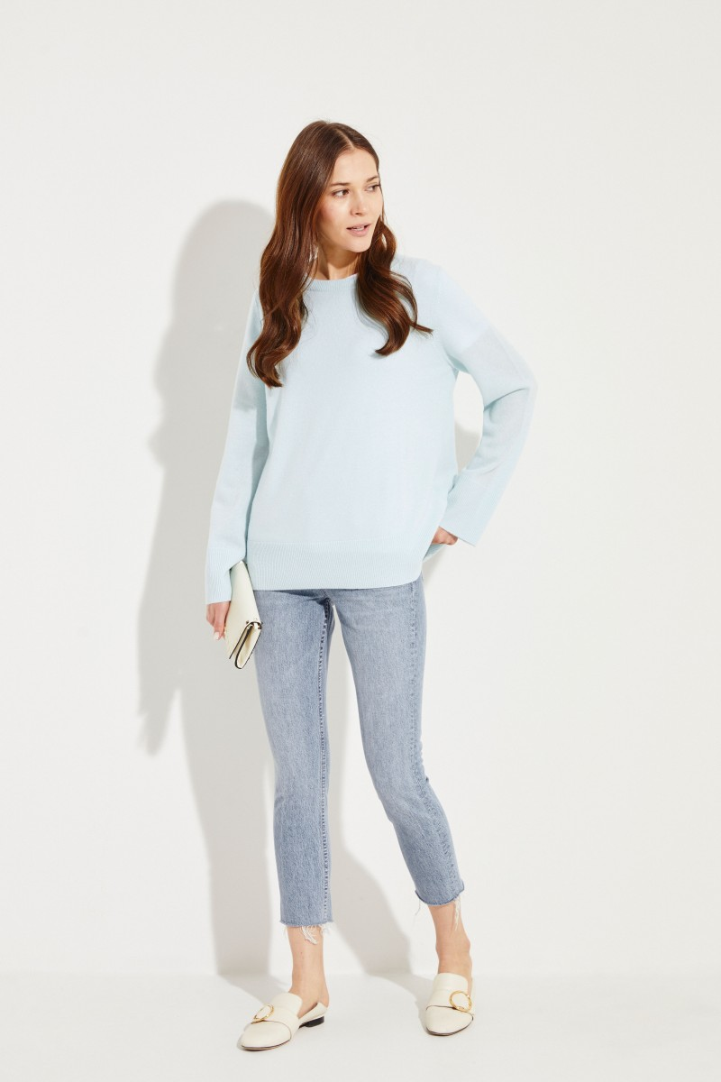 Cashmere-Pullover Mint