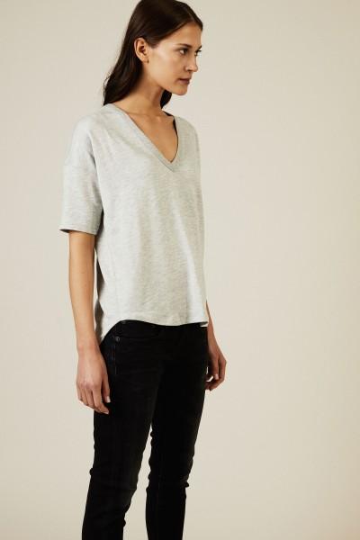 Basic-T-Shirt 'Phoenix' Grau