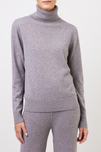 Uzwei Cashmere turtleneck sweater Grey