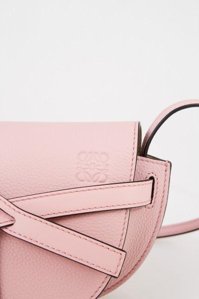 Loewe Umhängetasche 'Mini Gate' Pastel Pink