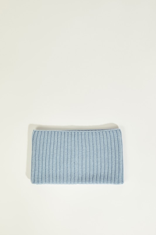 Cashmere-Schlauch-Schal 'Hastings' Blau