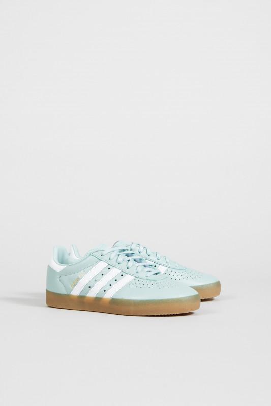 Leder-Sneaker 'Adidas 350 W' Grün/Weiß