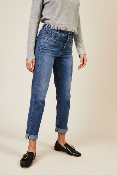 7/8-Jeans 'Pearlie' Blau