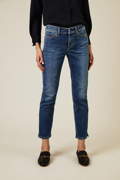 Jeans 'Piper Short' Blau