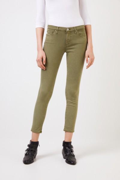 AG Jeans Skinny Jeans 'The Prima' Oliv