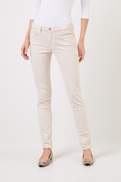 7 for all mankind Cord-Jeans 'Pyper' Beige