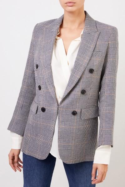 Veronica Beard Plaid Blazer 'Bexley Dickey' Multi
