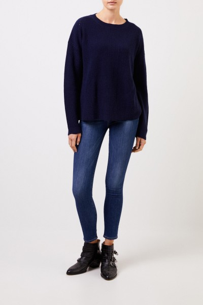Frame Highrise Skinny-Jeans 'Le High Skinny' Blau