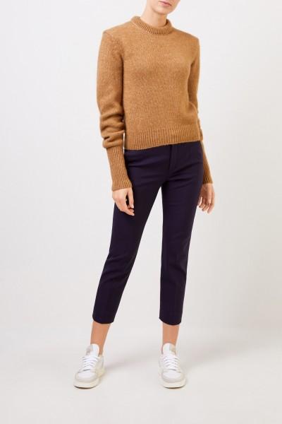 Alpaca Silk Sweater Muddy Beige
