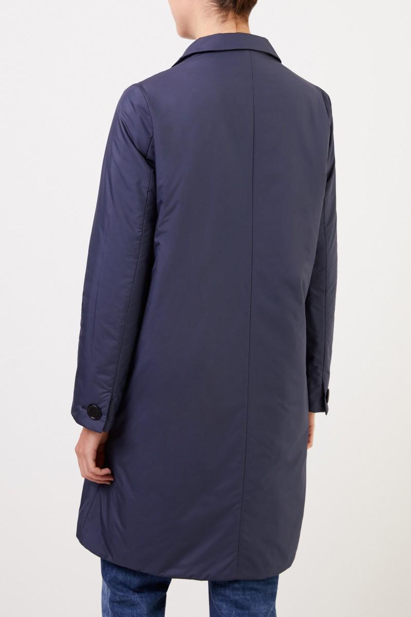 Aspesi Klassischer Kurzmantel Blau