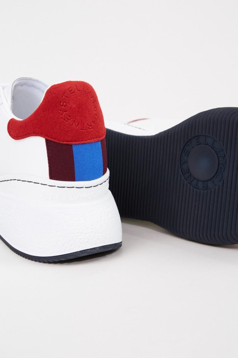 Stella McCartney Sneaker 'Loop' Weiß/Multi