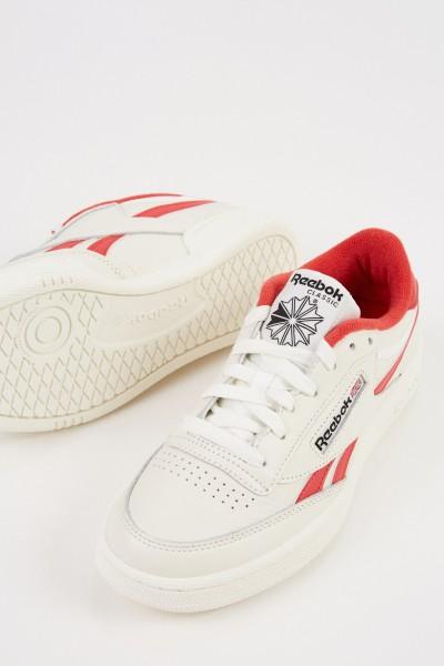 Reebok Sneaker ' Club C Revenge Mu' Rot/Chalk