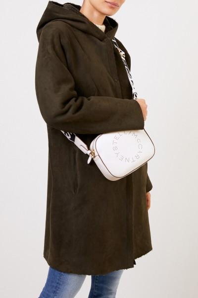 Stella McCartney Umhängetasche 'Mini Camera Bag' Weiß