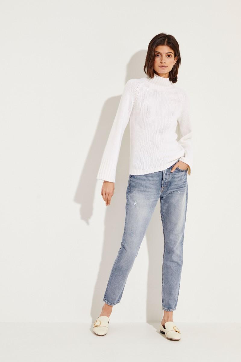 Cashmere Pullover Crèmeweiß