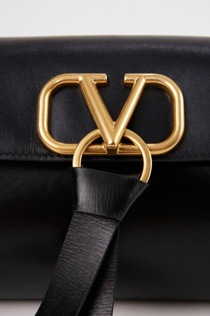 Valentino Tasche mit V-Logo Schwarz