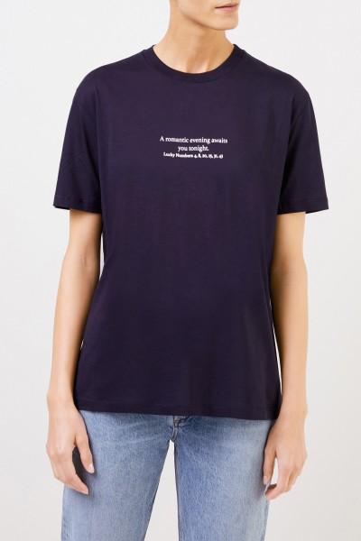 Stella McCartney T-Shirt with print blue