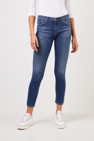 AG Jeans Super Skinny Jeans 'The Legging Ankle' Blau