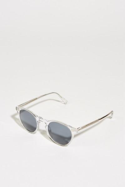 Sonnenbrille 'Gregory Peck' Transparent/Blau