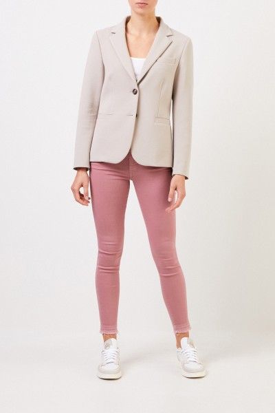 Cappellini Classic cotton blazer Greige