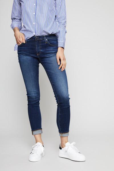 Super Skinny Jeans 'The Legging Ankle' Dunkelblau