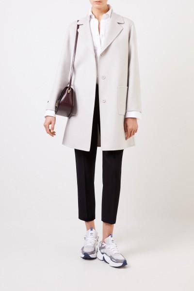 Classic cashmere coat Grey