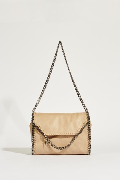 Umhängetasche 'Shoulder Falabella' Cream