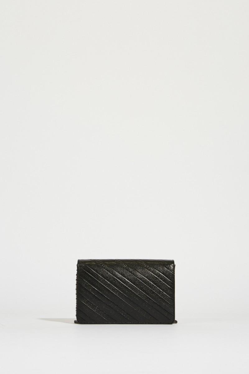 Umhängetasche mit Logo 'BB Wallet' Schwarz