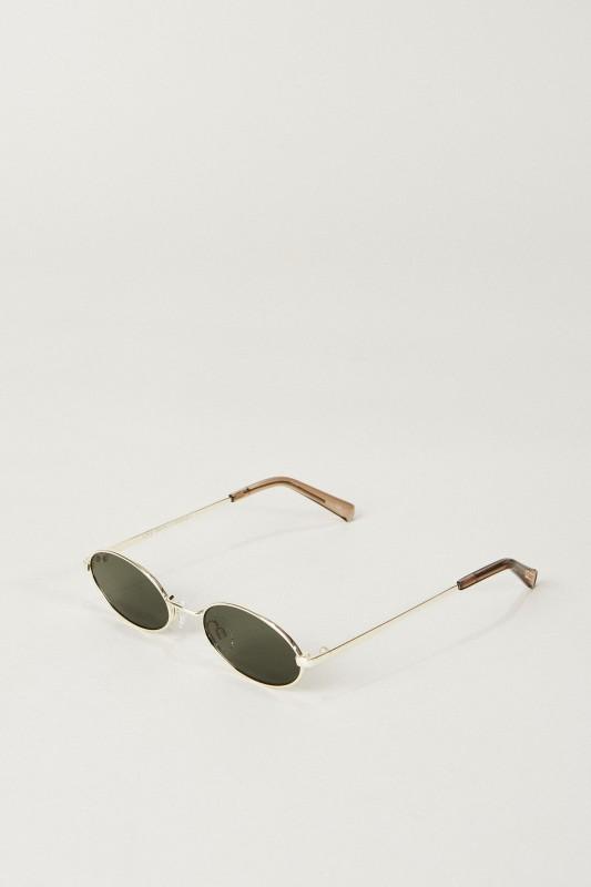 Sonnenbrille 'Love Train' Gold/Khaki