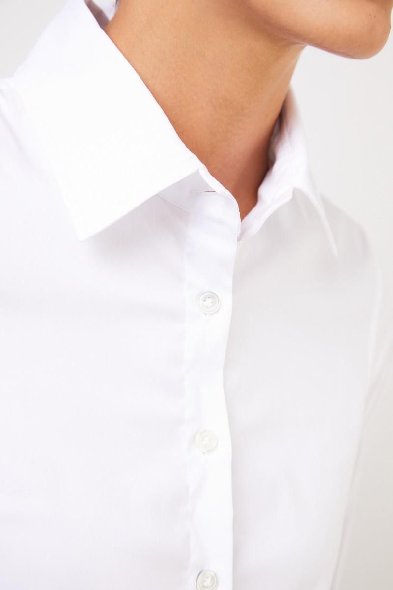 Robert Friedman Taillierte Bluse Weiß