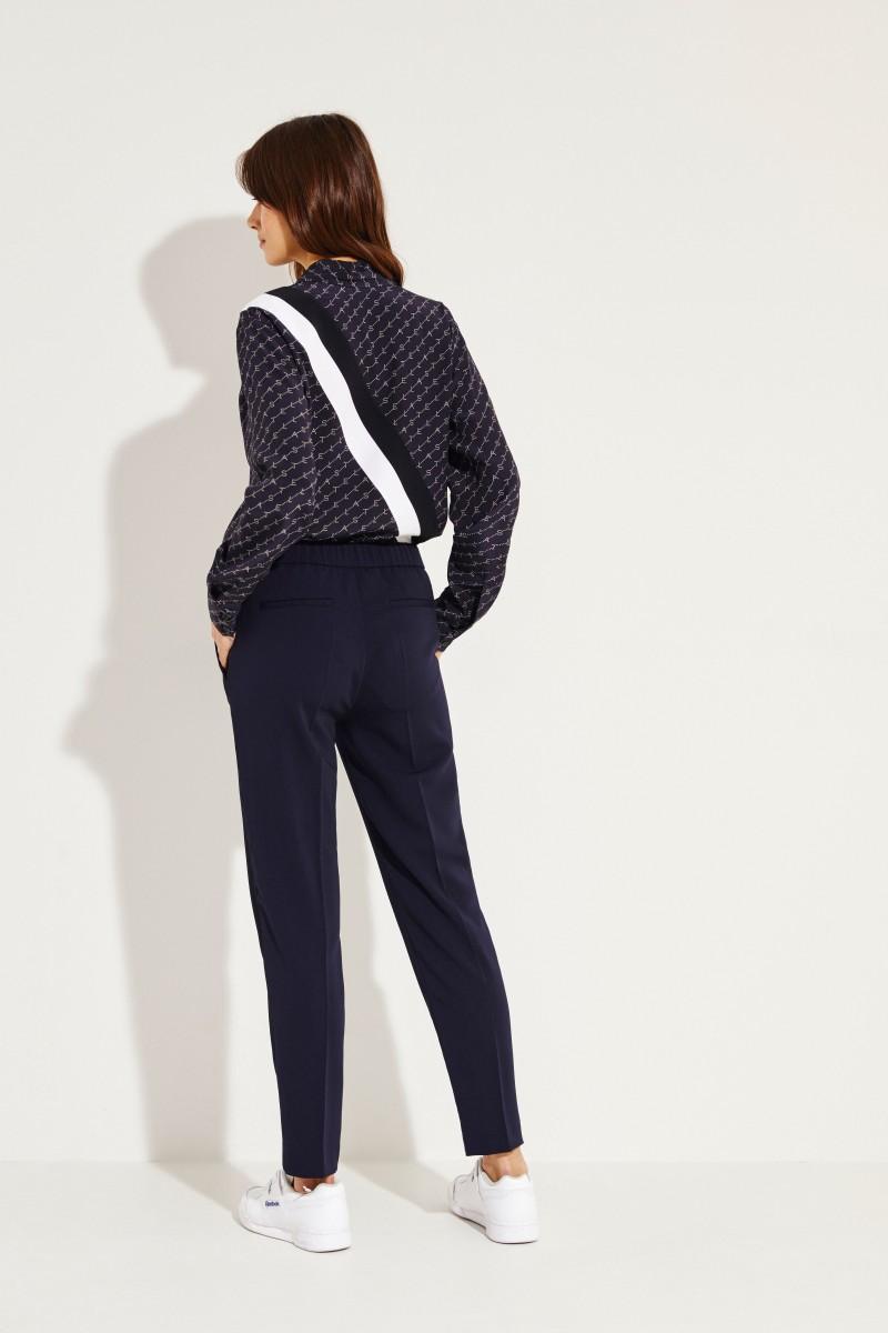 Hose 'Pearl Stripe' Blau