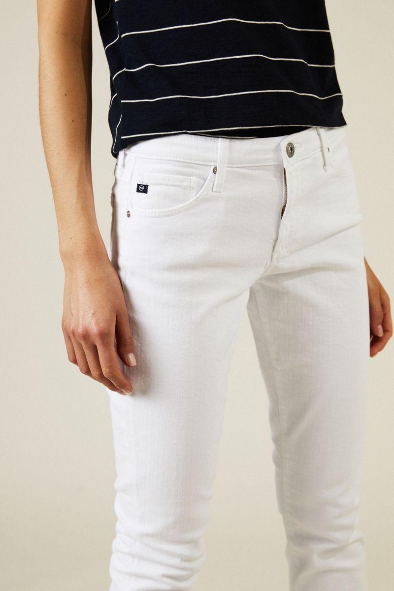 Cigarette Leg Jeans 'The Prima' Weiß