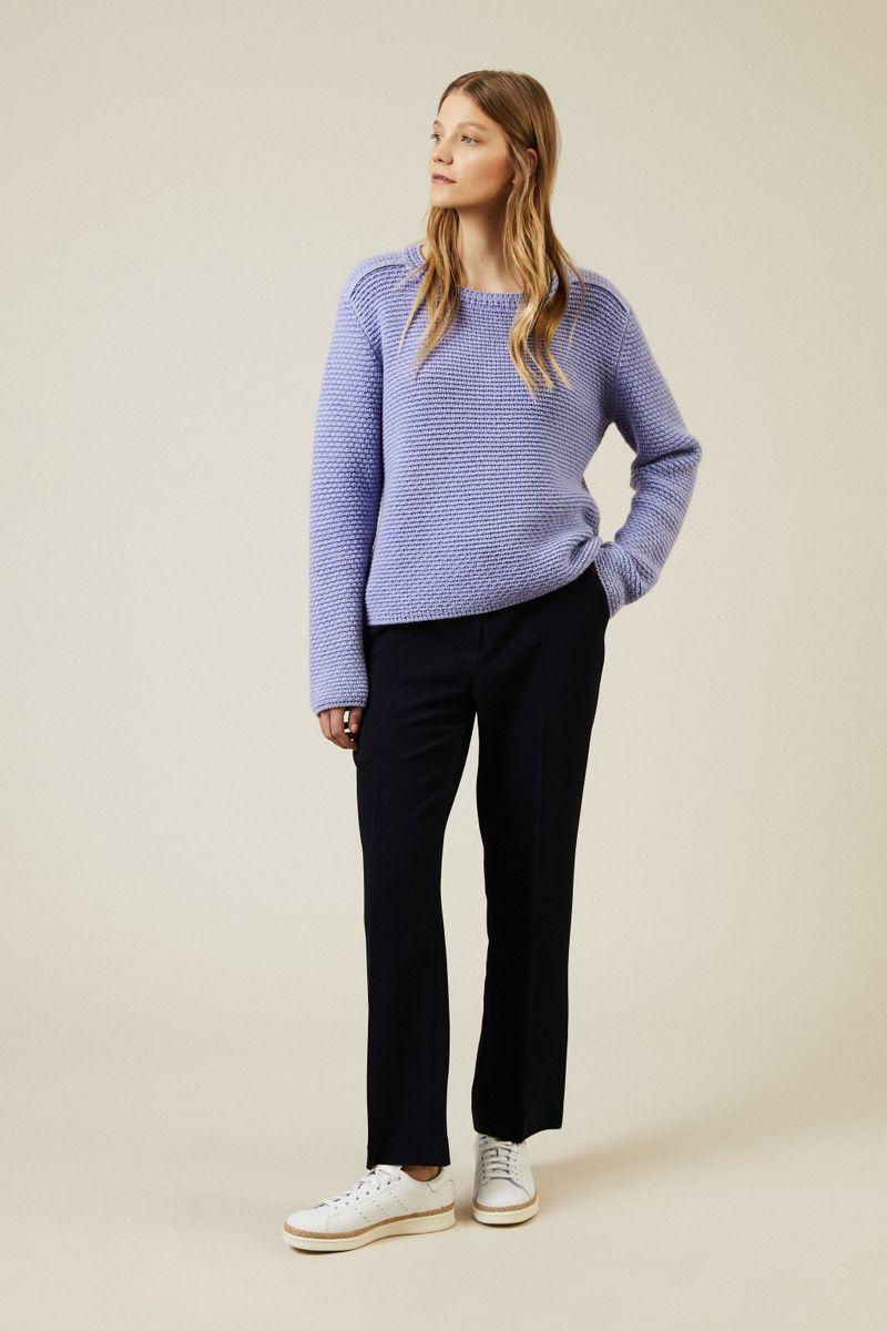 Cashmere Pullover 'Spitsbergen' Blau