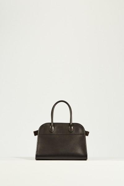 Leder-Handtasche 'Margaux' Schwarz
