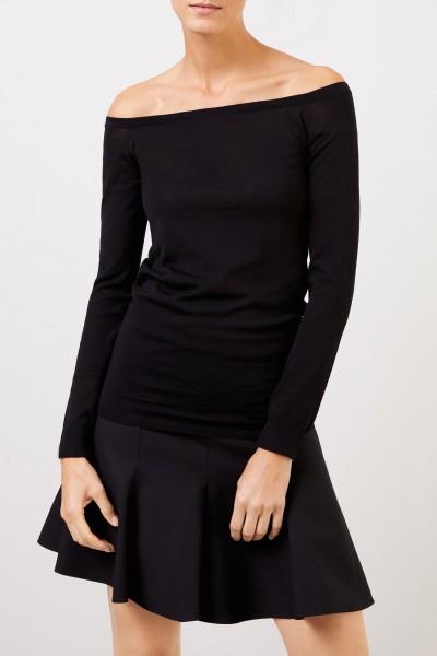 Stella McCartney Wool-Longsleeve Black