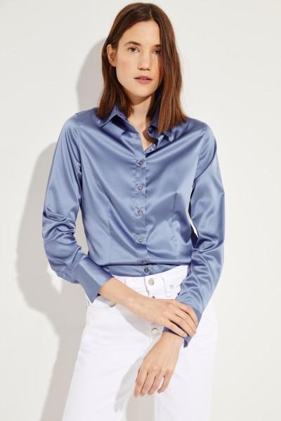 Bluse mit Glanz 'Jonies' Blau