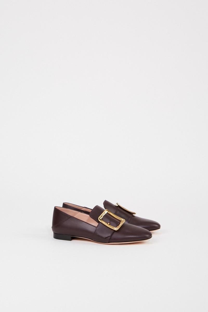 Bally Leather loafer 'Janelle' Violet