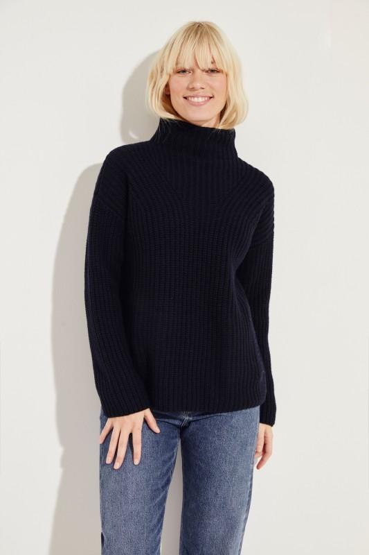 Cashmere-Pullover 'Megan' Blau