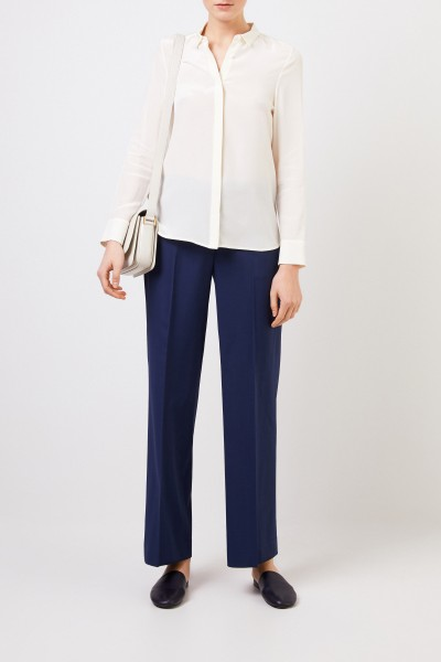 Silk blouse 'Alessandra' Cream White