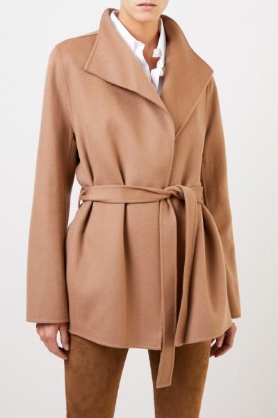 Joseph Wool-Cashmere Coat in Camel