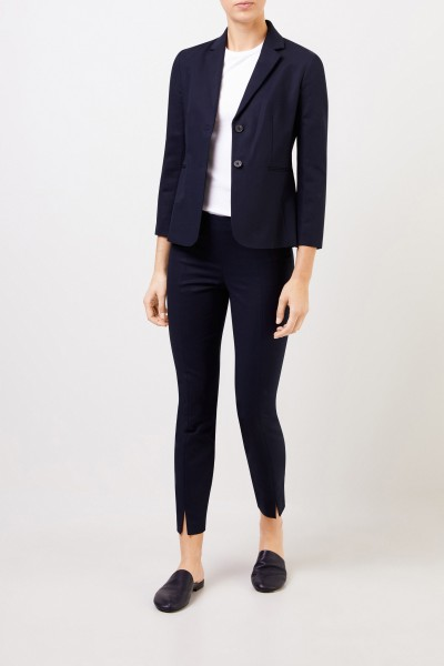 The Row Baumwoll-Blazer 'Lobton' Marineblau