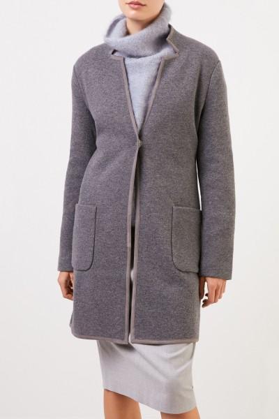 Fabiana Filippi Wool cashmere coat Grey