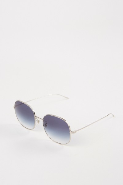 Oliver Peoples Sonnenbrille 'Mehrie' Silber/Blau