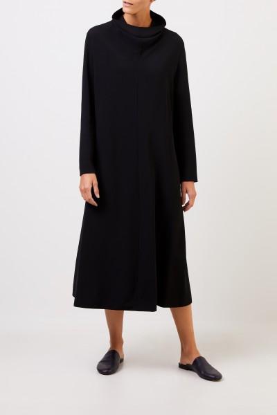 The Row Klassisches Kleid ' Barbara' mit Turtleneck Schwarz