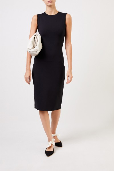 The Row Classic Dress 'Devi' Black