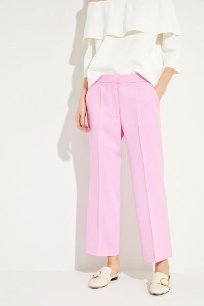 Klassische Bügelfaltenhose Pink