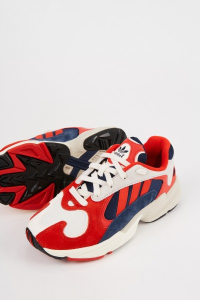 Adidas Sneaker 'Yung -1' red/navy blue