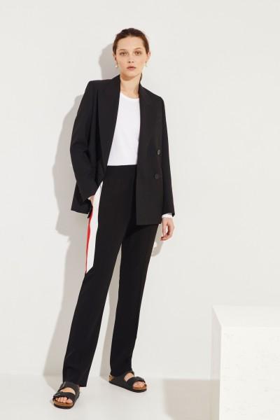 Givenchy Hose mit Streifendetails Schwarz/Multi