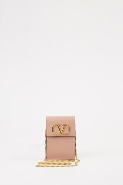 Valentino Mini shoulder bag 'V' Powder