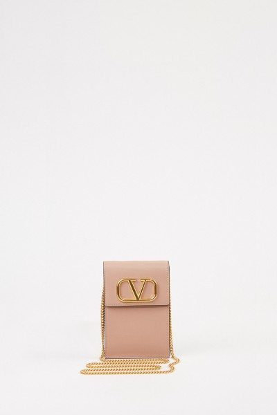 Valentino Mini-Umhängetasche 'V' Puder