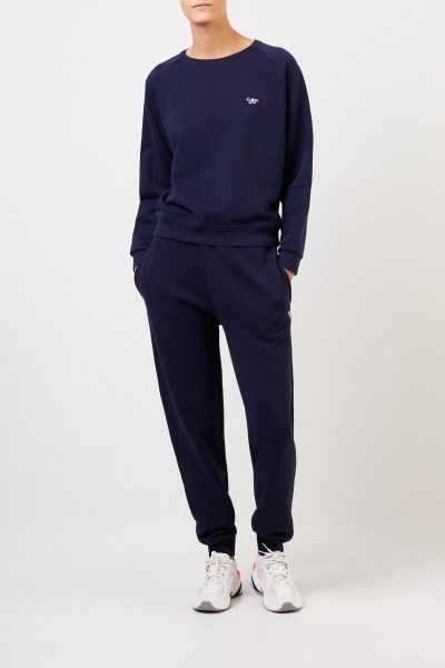 Maison Kitsuné Sweatshirt 'Tricolor Fox' Navy Blue